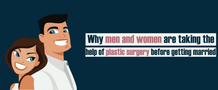 Why men and women are taking the help of plastic surgery before getting married