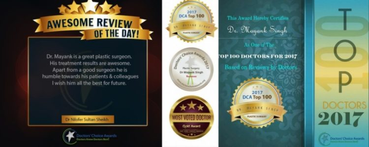 Best Hair Transplant in Delhi Dr. Mayank Singh achievements